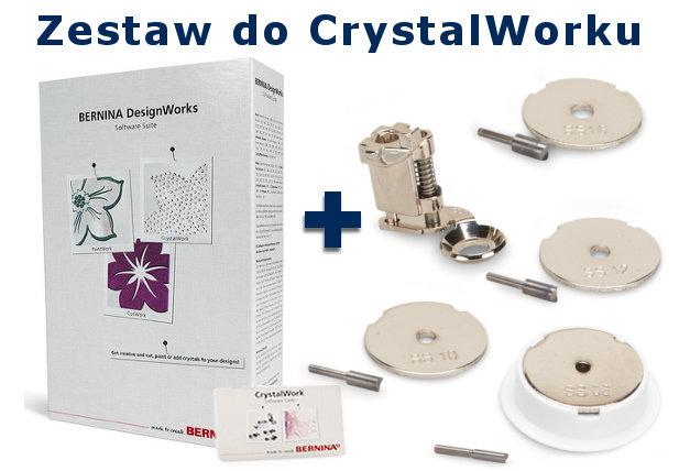 BERNINA CrystalWork - Ozdabiaj kryształkami, kamykami, cekinami