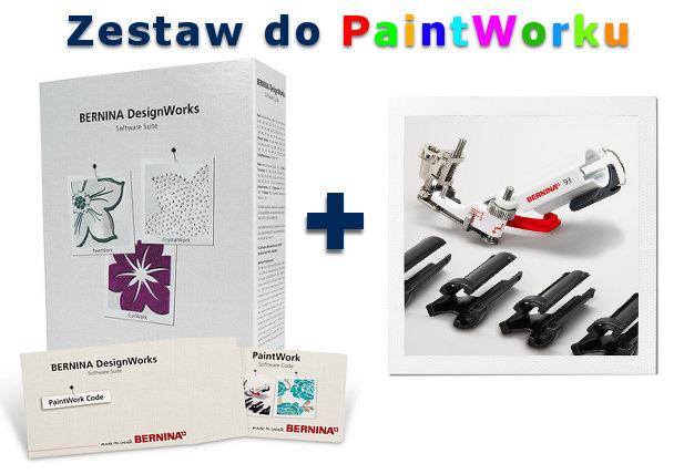 BERNINA PaintWork - Malowanie pisakami z użyciem hafciarki